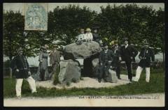 Le Menhir du Parc de l'Observatoire - Meudon