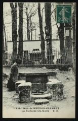La Fontaine Ste-Marie - Clamart