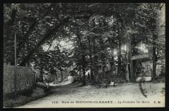 Bois de Meudon-Clamart - La Fontaine Ste-Marie - Clamart