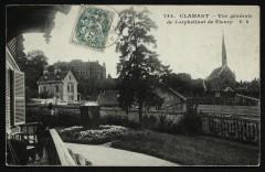 Vue générale de l'orphelinat de Fleury - Meudon