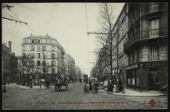 Boulevard National à la Rue du Landy et Leroy 92 Clichy
