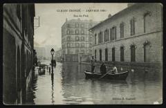 Clichy Inondé - Janvier 1910 - Rue du Parc 92 Clichy