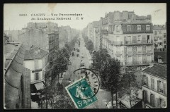 Vue Panoramique du Boulevard National 92 Clichy