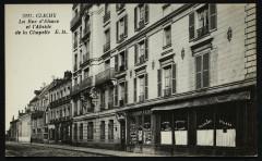 La Rue d'Alsace et l'Abside de la Chapelle 92 Clichy