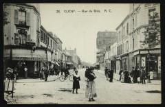 La Rue du Bois 92 Clichy