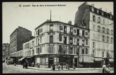Rue du Bois et Boulevard National 92 Clichy