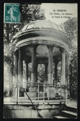 L'Ile d'Amour, vue intérieure - Le Temple de l'Amour - Neuilly-sur-Seine