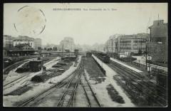 Bécon-lès-Bruyères - Vue d'ensemble de la Gare - Asnières-sur-Seine
