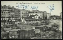 Bécon-lès-Bruyères - La Gare, vue générale - Asnières-sur-Seine