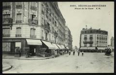 Bécon-les-Bruyères - Place de la Gare - Asnières-sur-Seine