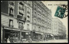La Place de la Gare - Asnières-sur-Seine