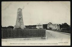 Le monument de la Défense sur le plateau de Châtillon - Fontenay-aux-Roses