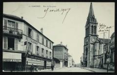 Rue de Suresnes - Garches