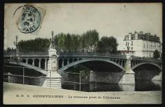 Le nouveau pont de Villeneuve - Villeneuve-la-Garenne