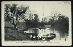 Bord de la Seine - Passage pour Robinson 92 Boulogne-Billancourt