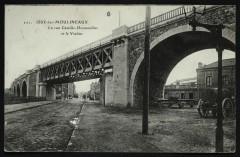 La rue Camille-Desmoulins et le Viaduc - Issy-les-Moulineaux