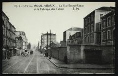 La Rue Ernest-Renan et la Fabrique des Tabacs - Issy-les-Moulineaux