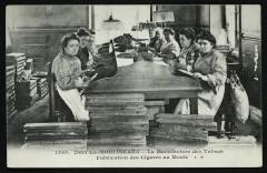 La Manufacture des Tabacs - Fabrication des Cigares au moule - Issy-les-Moulineaux