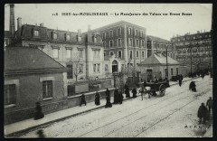 la Manufacture des Tabacs rue Ernest Renan - Issy-les-Moulineaux