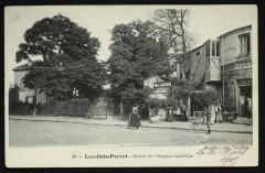 Entrée de l'Hospice Grefhule - Levallois-Perret