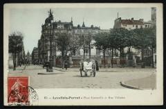 Place Cormeille et Rue Voltaire - Levallois-Perret