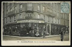Rue de Courcelles et Rue du Marché - Levallois-Perret