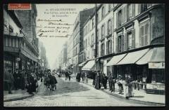 Rue Vallier, prise de la Rue de Courcelles - Levallois-Perret