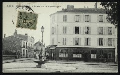 Place de la République - Malakoff