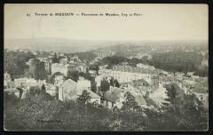 Panorama de meudon, Issy et Paris - Meudon
