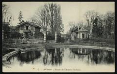 Bassin de l'Avenue Mélanie - Meudon