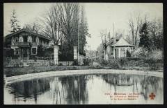 Bellevue - Le Bassin de l'Avenue Mélanie et la Rue du Bassin - Meudon