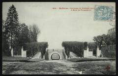 Bellevue - Terrasse du Château donné à Mme de Pompadour - Meudon