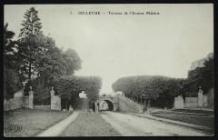 Bellevue - Terrasse de l'avenue Mélanie - Meudon