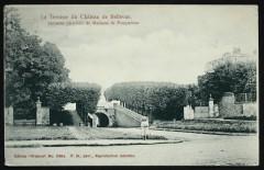 Terrasse du Château de Bellevue ancienne propriété de Madame de Pompadour - Meudon