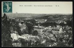 Vue Générale vers Paris - Meudon