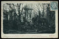 La Tour des Dames de France, la Chaumière et le Lac, ancien parc du Château de Bellevue, donné par Louis Xv à Madame de Pompadour - Meudon