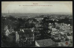 Panorama de paris pris de la Terrasse de Meudon - Meudon