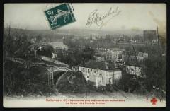 Bellevue - Panorama pris des hauteurs de Bellevue, la Seine et le Pont de Sèvres - Meudon