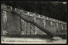 L'Escalier de la Terrasse de l'Observatoire - Meudon