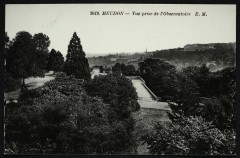 Vue prise de l'Observatoire - Meudon