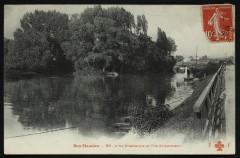 Bas-Meudon - L'Ile Chabanne et l'Ile St-Germain - Issy-les-Moulineaux