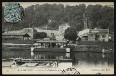 Bas-Meudon - Vue sur le Funiculaire prise de l'Ile Seguin 92 Boulogne-Billancourt