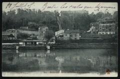 Bellevue - Bords de Seine, le Funiculaire 92 Boulogne-Billancourt