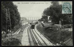 Le Viaduc pris de la Gare - Meudon