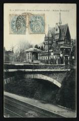 Pont du Chemin-de-Fer - Maison Mexicaine - Meudon