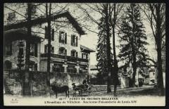 Forêt de Meudon-Bellevue - L'Ermitage de Villebon - ancienne Faisanderie de Louis Xiv - Meudon