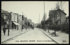 Bellevue-Meudon - Boulevard Vert St-Julien - Meudon