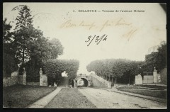 Terrasse de l'Avenue Mélanie - Meudon