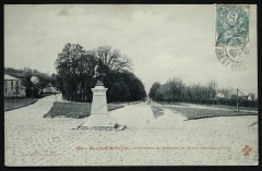 Meudon-Bellevue - L'Avenue du Château et la rue des Capucines - Meudon