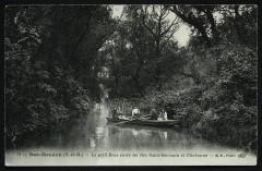 Bas-Meudon - Le petit Bras entre les Iles Saint-Germain et Chabanne - Issy-les-Moulineaux
